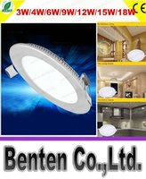 Wholesale external led spot light for sale - Group buy 9W W W W led Panel light round indoor Balcony lavatory ceiling recessed spot lamp led kitchen light external LED driver LLFA11