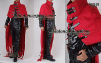 Compra Vincent Cosplay-All'ingrosso-Anime Final Fantasy FF05 Vincent Valentine costume cosplay su misura di trasporto
