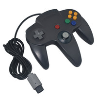 Wholesale Special For Games - Classic Retro Wired Gamepad joystick for N64 controller special Nintendo N64 Game Console Analog gaming joypad High Quality FAST SHIP