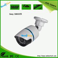 Wholesale High Resolution Ir Lens - 1 3 Sony IMX225+Nextchip 2431H AHD Camera 960P high resolution CCTV waterproof camera 3.6mm lens 20m IR distance AS-AHD8201S1