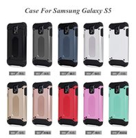 Wholesale Galaxy S3 Layer - J3 Pro Cool Hybrid Armor Case Dual Layer Silicone Plastic Cover for samsung galaxy S3 S4 S5 G530 Grand prime