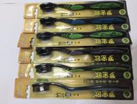 нано бамбук оптовых-новое поступление 6 шт./лот бамбуковый уголь зубная щетка Nano мягкая зубная щетка гигиена полости рта
