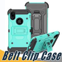 Wholesale Imperial Gold - Defender Cases Impact Hybrid Belt Clip Kickstand Case For ZTE ZTE Z963U Imperial max Z988 Grand x max 2 Zmax Pro Z981 N9560 MAX XL N986DL