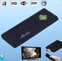 RK3066 MK809II TV Dongle Dual Core Android 4.2 avec Bluetooth 1G / 8G Lecteur multimédia Android MK809II TV Box