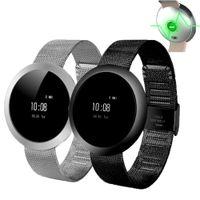 luxus-schrittzähler großhandel-Luxus CF006 Touch Screen wasserdichte intelligente Uhr-Sport-Aktivität neue X9 SmartBand Fitness Spur Pedometer Herzfrequenzmesser für Smartphones