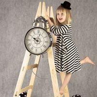 Wholesale Kids School Dress - Girl Dress Princess 2016 Autumn New Stripe Dresses For Girls Kids Children School Clothes Toddler Girls Dresses Baby Clothing