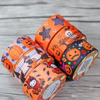 Wholesale Decorating Masks - DHL halloween 2.2cm * 100cm Adhesive Tapes silk tapes for packing decorate masking factory price(2)