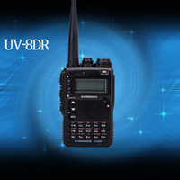 Wholesale Tri Band Radio - Wholesale-2016 New version VEASU UV-8DR Tri-Band 136-174 240-260 400-520mhz CB Radio Thicker ham radio walkie talkie Sister Yaesu VX-8DR