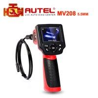 Wholesale Top Selling Digital Cameras - Wholesale-Top Selling Autel Maxivideo MV208 Digital Videoscope 5.5MM inspection camera MV 208 Multipurpose Videoscope In stock DHL Free
