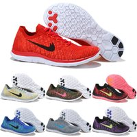 Drop Shipping Wholesale Running Shoes Homens Mulheres Cheap Free Run 4.0 Sneakers de alta qualidade 2016 Portable Sports Shoes Size 5.5-11