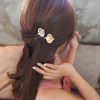 Wholesale Calla Lily Accessories - Pretty Metal Calla lily Bouquet Hair Pin Clip Jewelry Accessories Wedding Boho Style Bobby Pins for Women