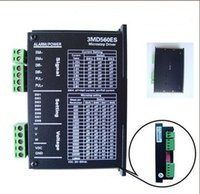 Wholesale Stepping Motor Driver Controller - 3 phase Stepper Motor Driver 3MD560ES For NEMA 17 23 34 Stepping with DC20-50V input supply and output 1.35-5.8A for engraving