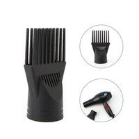 Wholesale types hair dryers - Wholesale- Black Professional Hairdressing Salon Hair Dryer Diffuser Blow Collecting Wind Comb Hot!