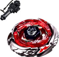 Wholesale Beyblade Dx - Wholesale-4D hot sale beyblade Beyblade Duo Uranus Ice-Titan BB-121A of Metal fusion toy a Fury Ultimate DX Box Set Launchers perpetual mo