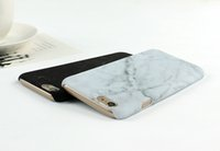 Wholesale Smoothing Plastic Phone Case - Hot Selling Fashion Marble Phone Case Hard PC Case for iPhone 6 6S 6 Plus 5 5s SE Cover Coque Ultrathin Smooth Back Case Cover