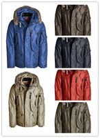 Wholesale Hand Spliced - 2018 Hot Sale Top Copy Parajumpers Right Hand Down Jacket Men's Winter Parka With Hoodie Fur Arctic Coat Cheap Outlet Factory