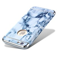 Wholesale Protector Images - i5 i6 6P Fashion Phone Cases For iPhone 5 Case Marble Stone image Painted Cover For iphone5 5S 6 6S   Plus Screen Protector