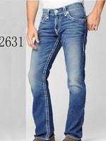 Wholesale Rock Revival Short - 2017 Famous brand Robin short true jeans men tide summer designer robin jeans for male true biker fashion short robin rock revival jeans