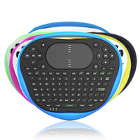 comprimido t8 venda por atacado-T8 mini Teclado Sem Fio Mouse 2.4G Air Fly Teclado de Silicone Do Mouse Com Touchpad Muti-touch Para Android TV Box Notebook Tablet