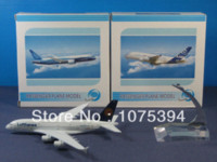 Wholesale Diecast Model Aircraft - New Lufthansa Airline Airbus A380-800 Passenger Airplane Plane Aircraft Metal Diecast Model Collection Diecasts & Toy Vehicles
