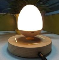 Funny Tanble Lamp LED Maglev Warming Lamp Levitacion Speaker Bluetooth Регулируемый интересный светильник Levitacion Magnetica