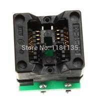 Wholesale 2014 New TOP Quality SOIC8 SOP8 to DIP8 EZ Socket Converter Module Programmer Adapter With mil