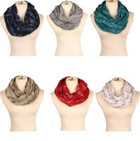 Wholesale Soft Winter Mufflers - women scarf musical notation printed scarves soft Neck Scarves Shawl autumn and winter scarf Muffler Scarves LJJK742