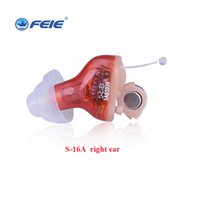 Wholesale Wholesale Prices Hearing Aids - 2pcs Enhance Hearing Device For the Elderly from Hearing Loss 4 Channels Comfortable Prices for Digital Hearing Aid S-16A Free Shipping