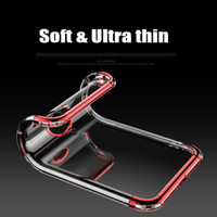 Wholesale Wholesale Phone Brand - Soft Plastic Clear Cases for iPhone X 8 7 6 6s Plus TPU+PC Gel Cell Phone Cover for OPPO R11 R11plus Ultra Thin Soft Protective Covers