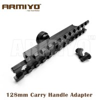 Wholesale Carry Handle Weaver - Armiyo 128mm Carry Handle Adapter Picatinny Mount Base Weaver 20mm Rail Hunting Fixed Laser Scope Sight