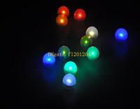 ingrosso luci fiabe galleggianti-600pcs / lot Trasporto libero Fairy LED perle decorazione di cerimonia nuziale 2CM Mini colorato piccolo Led bacche impermeabile galleggiante luci a LED