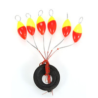Wholesale Stoppers Float - Wholesale- 2pcs lot 6 in 1 Cylinder Fishing Stopper Fishing Tackle Water Floats Bobbers Sinker, Free Shipping