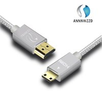 Wholesale Hd Cable Mini - Mini HDMI to HDMI Cable compatible with HDMI 2.0a b, 2.0, 1.4a (Ultra HD, 4K, 3D, 1080p, HDR, ARC, Highspeed
