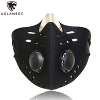 Wholesale Bike Training - Anti-dust bicycle mask warm wind protection half face mask filter bike cycling motocycle mask for outdoor training face protect