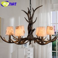 Wholesale antler chandelier buy cheap antler chandelier in bulk wholesale antler chandelier european antique chandeliers american style personality fabric resin antler lamp diameter cm aloadofball Choice Image