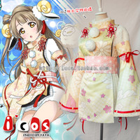 Wholesale Kotori Anime - Wholesale-LOVE LIVE! Minami Kotori Month Sheep SR Awaken Uniforms Cosplay Costume Free Shipping
