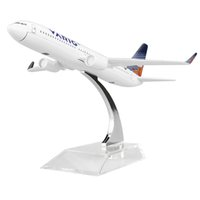 Wholesale child models hot - New hot sale 1:400 BRAZIL VARIG AIRLINES B737-800 16cm alloy metal model aircraft child Birthday gift plane models chiristmas gift