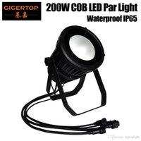 impermeabilizacion led par puede al por mayor-Gigertop TP-P108 Impermeable 200W COB Led Par Light Frío Blanco / Cálido White / RGBW / RGBWA UV Color Par LED al aire libre puede realizar una carcasa doble de luz