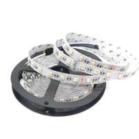 Wholesale Pc Chips - RGBW LED Strip 5050 DC12V 24V Flexible Light 4 color in 1 LED Chip 60 LED m 5m lot