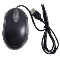 Wholesale Pc Usb Wheel - New USB Gaming mouse white box Mouse PC mouse for dell sony wired mouse LED Optical Wired Scroll Wheel Mini Mouse Mice