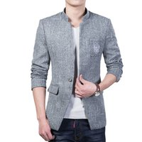 2016 Männer Blazer und Jacken formale Kleid Anzüge Herren Casual Fashion Slim Fit Single Button Style Blazer Plus Größe M-5XL