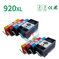 Wholesale Hp Printers One - ZH 8 X Ink Cartridges 920XL Compatible For HP6000 6000wireless 6500 6500wireless 6500a e-All In One Printer