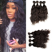 Wholesale Remy Water Wave Weave - G-EASY Malaysian hair weave bundles cheap hair extensions 4pcs lot Water Wave One Donor Unprocessed Malaysian remy human hair