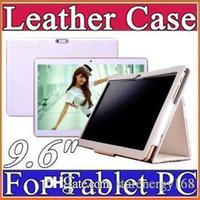 Wholesale mtk8382 3g tablet resale online - 9 inch Original Protective Leather case for quot G phone MTK6572 MKT6589 MTK6592 MTK8382 Tablet PC D PT