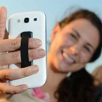 mobiler fingergriff großhandel-Universalgriff-Finger-Griff-tragbarer fauler Halter-elastische einhändige Operation für Handy-intelligentes Telefon Samsung Note 5 Tablette-Leser