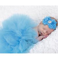 Wholesale Popular Boy Photo - New Popular Photography Props Newborn Baby Props Girl Boy Princess Tutu Skirt Costume Photo Prop Outfit
