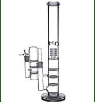 Wholesale triple honeycomb ash catcher 18mm resale online - 17 quot tall big water bongs mm recycler oil rigs dab bubbler triple honeycomb perc smoking glass pipes bowl ash catcher mm