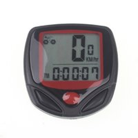 Wholesale display cycling bicycle resale online - Bicycle Computer Leisure Functions Waterproof Cycling Odometer Speedometer With LCD Display Bike Computers For Bicycle Accessories