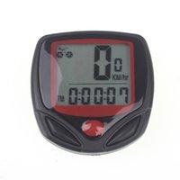ingrosso visualizza gli accessori-Contachilometri contagiri impermeabile 14 funzioni per computer da bicicletta con display LCD Computer da bici per accessori per biciclette