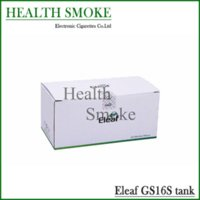 Wholesale Gs Atomizers - 10pcs New Hot sell Genuine Eleaf iStick GS16s Atomizer iSmoka GS 16s tank Steel and Pyrex glass free shipping